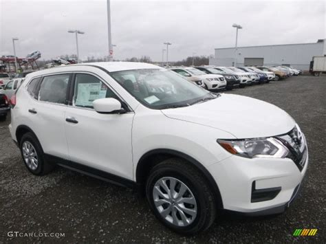 nissan rogue 2017 white 2017 glacier white nissan rogue s awd 118361864 photo 4