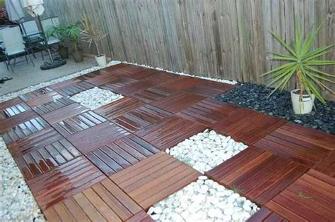backyard tile 32 amazing floor design ideas for homes indoor and outdoor