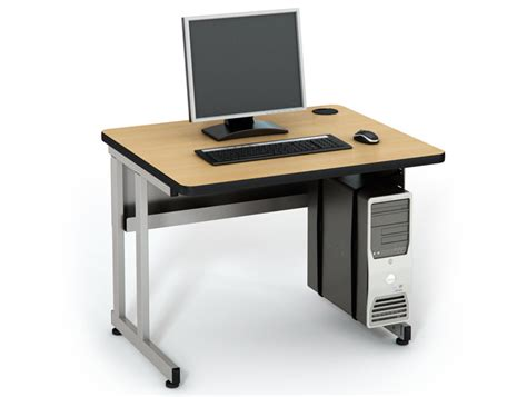 Computer Comforts by Basic Table Computer Lab Tables Classroom Furniture