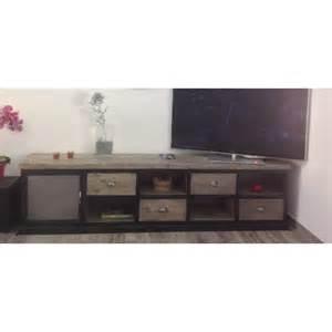 meuble tv bas bois artzein