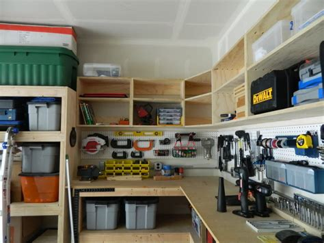 How To Make Garage Cooler diy garage cabinets to make your garage look cooler elly