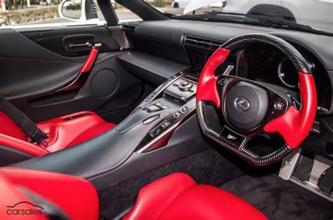 lexus lfa interior lexus lfa for sale in australia with 1m price tag