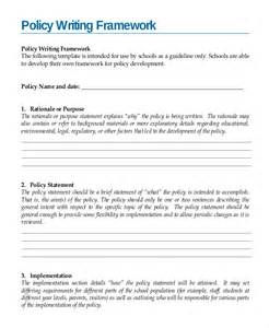 writing policies and procedures template writing template 15 free word pdf documents