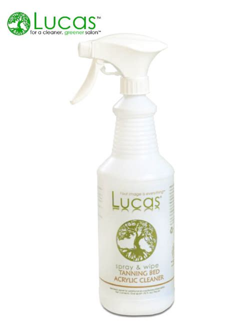 tanning bed cleaner lucas 174 salon and spa acrylic tanning bed cleaner 32oz