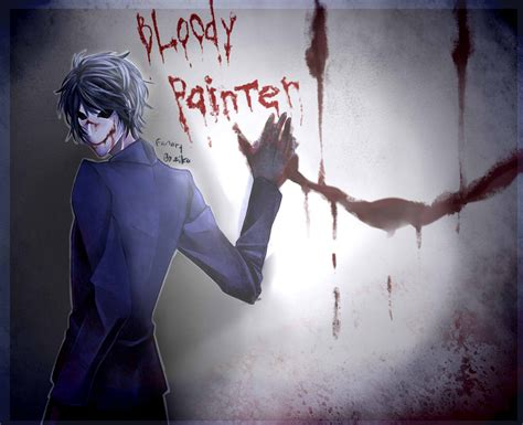 the bloody bloody painter by 123shei chan321 on deviantart