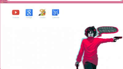 karkat vantas google chrome theme version 2 by kankri vantas chrome themes themebeta