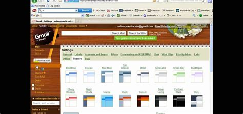 gmail themes location how to browse and set personalized themes in gmail