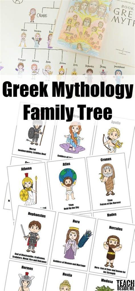 printable family tree books 20 best images about greek mythology on pinterest
