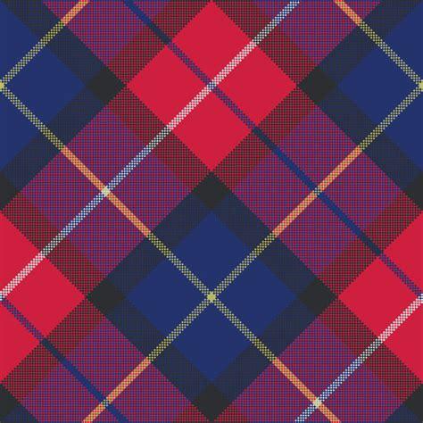 tartan pattern texture blue tartan pixel fabric texture seamless pattern vector