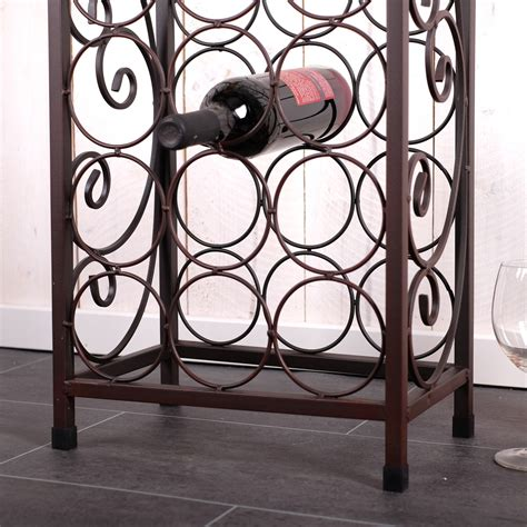 Designer Wine Rack For 20 Bottles Metal Bottle Holder Storage Stand Rack Ebay Wine Rack Template