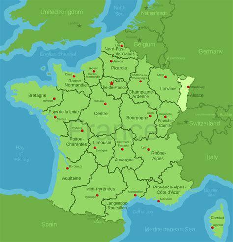 alsace france alsace france map