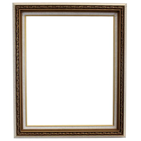 photo frame white crackle open back frame 16 quot x 20 quot by studio d 233 cor 174