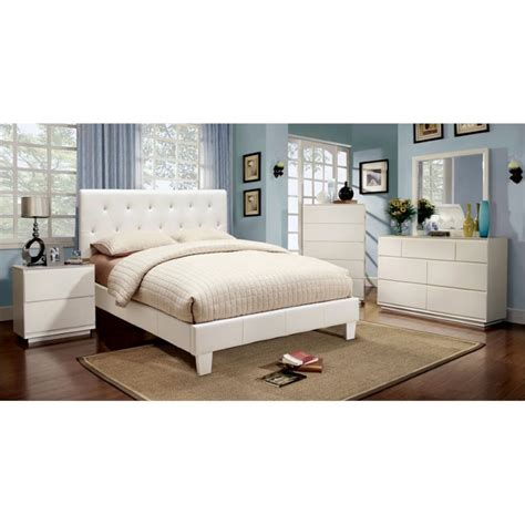 upholstered king bedroom set furniture of america kylen 4 piece upholstered california