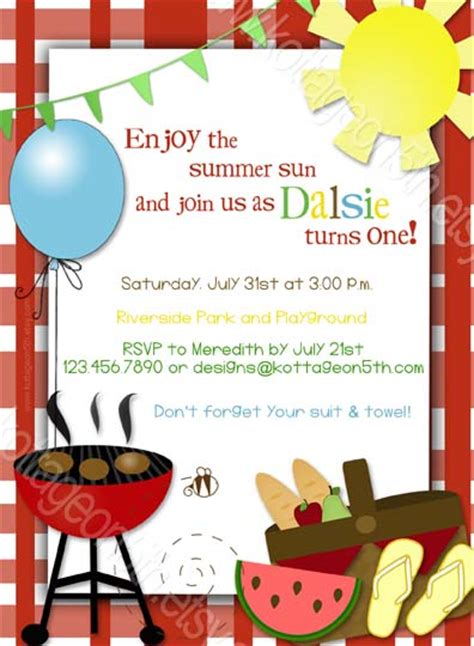 bbq invitations templates free 17 summer bbq invitation word template images free