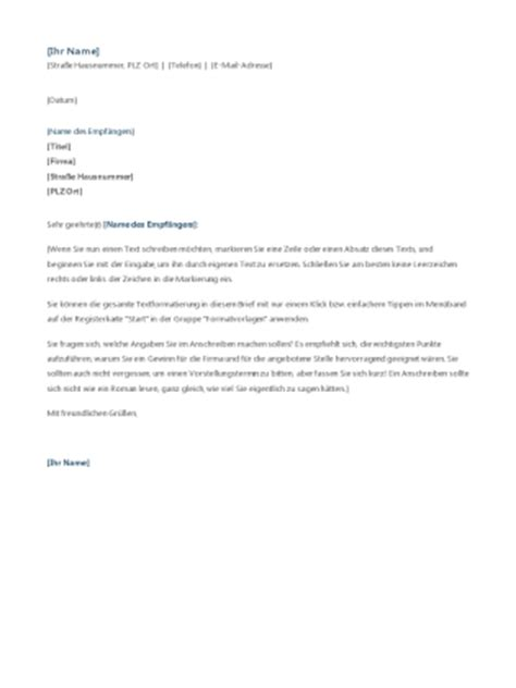 Anschreiben Template Anschreiben F 252 R Praktikumsbewerbung Office Templates
