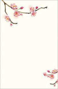 blossom template cherry blossom invitations template best template collection