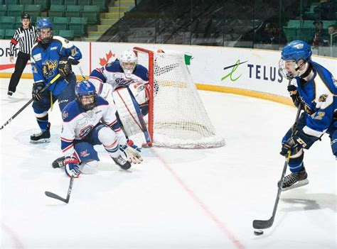 Telus Phone Book Lookup Smithies Smallwood Leduc Fall To At Telus Cup Discovermoosejaw