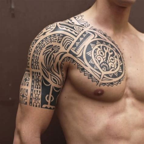 tribal tattoo chest and arm 101 best tribal tattoos for cool designs ideas