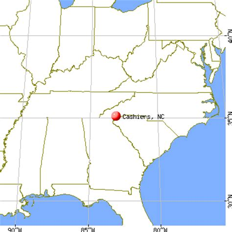 cashiers carolina map cashiers carolina nc 28717 profile population