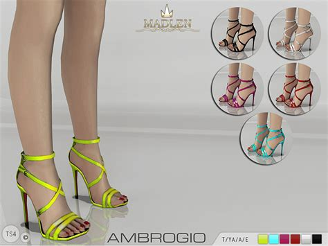 sims 4 shoes the sims resource mj95 s madlen ambrogio shoes