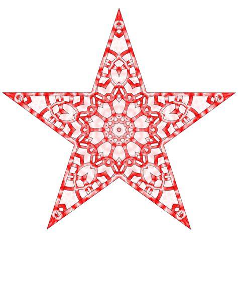 printable christmas star decoration bethlehem star christmas tree topper christmas lights