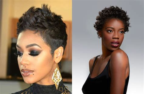 best hair gel for women with a pixie cut best 34 pixie short haircuts for black women 2018 2019