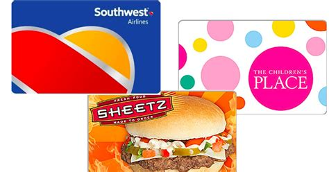 Southwest Airlines Gift Card Deals - 220 southwest airlines egift card only 200 more gift card deals hip2save