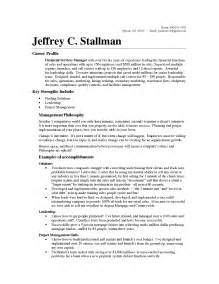 Facilities Operations Manager Sle Resume by Sales Operations Manager Resume