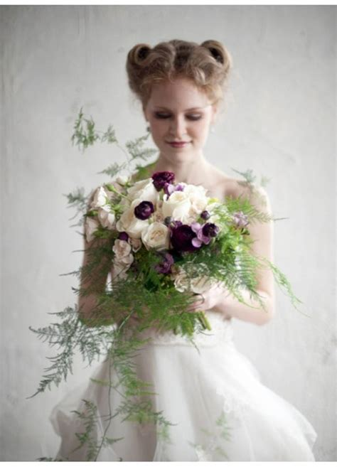 Wedding Bouquet Ferns by Beaut 233 Botanique Wedding Bouquets With Ferns