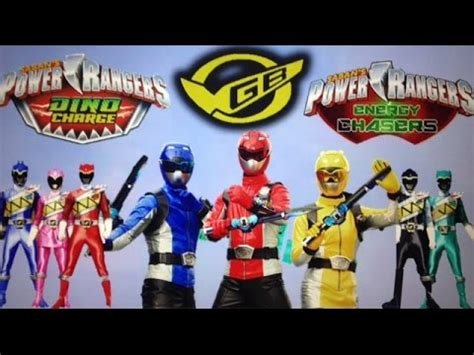 power rangers energy chasers go busters in dino charge