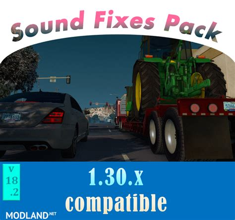 euro truck simulator 2 mod game fixes sound fixes pack v18 2 mod for ets 2