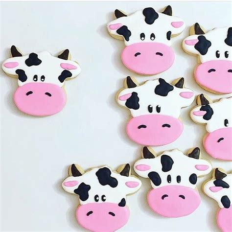 Cookiea Cutter Moo Cow Sapi 192 best farm animals cows horses chickens etc cookies cakes food ideas images on