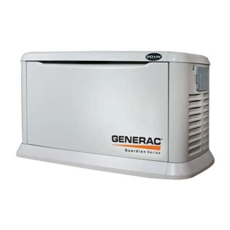generac 20 000 watt air cooled automatic standby generator