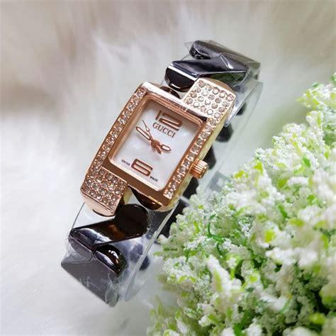 Harga Jam Tangan Wanita Merk Gucci Original jual jam tangan gucci steinless zigzag harga murah