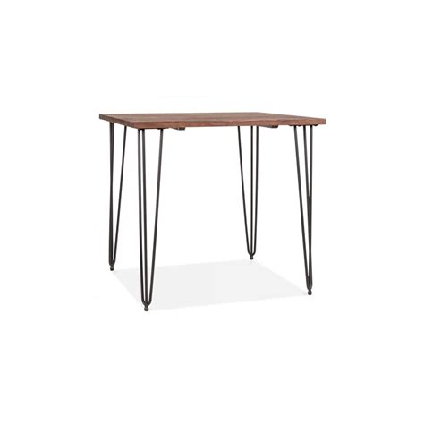 wooden dining table with black legs only home loxley square wooden dining table with black