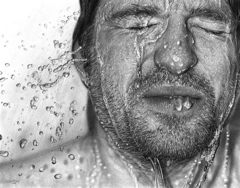 Drawing Realistic by Andrew Mulenga S In The Wall Hyperrealism Realer