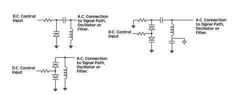 varactor diode circuit operation capacitance how to properly connect and drive varicap diodes electrical engineering stack