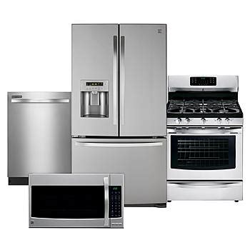 best kitchen appliance set kenmore kenmore 4 kitchen package stainless steel