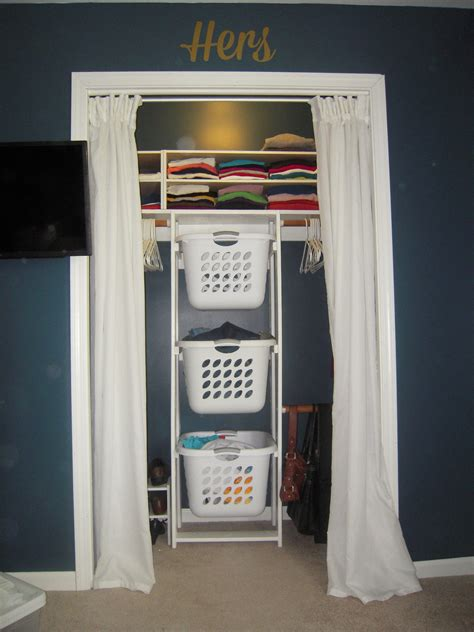 White Laundry Hers White His Hers Closet Laundry Basket Dressers Diy Projects