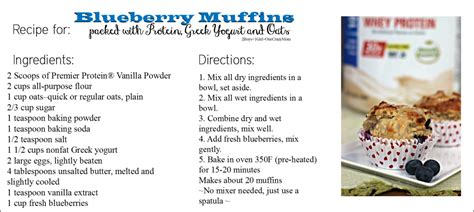 free printable muffin recipes blueberry greek yogurt muffins with protein recipe