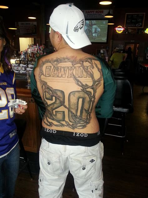 philadelphia tattoos the 8 wildest philadelphia eagles tattoos