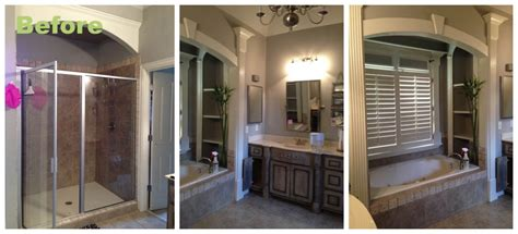 Bathroom Remodeling Ideas Small Bathrooms by Before And After A Master Bathroom Renovation Atlanta