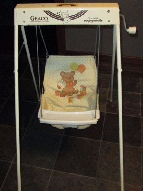vintage baby swing wind up swing for sale classifieds