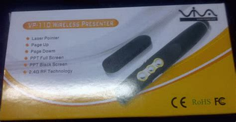 Wifi Usb Makassar laser pointer presenter wireless presenter vp 110