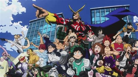 my hero academia 4 anime that you should be watching my hero academia