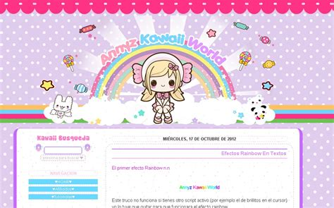 blog layout kawaii image gallery kawaii blogspot