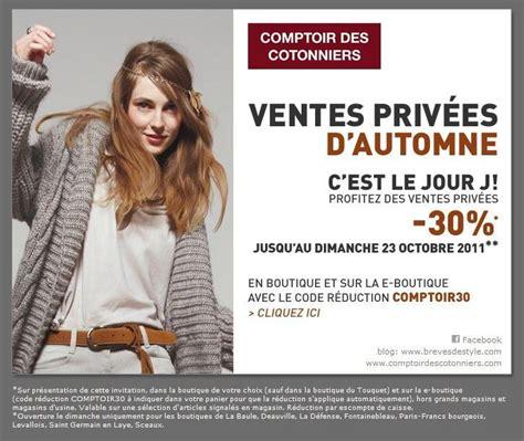 vente privee comptoir des cotonniers vente priv 233 e comptoir des cotonniers lifestyle