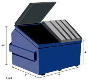 dumpster types sizes commercial residential roll off construction demolition dumpsters