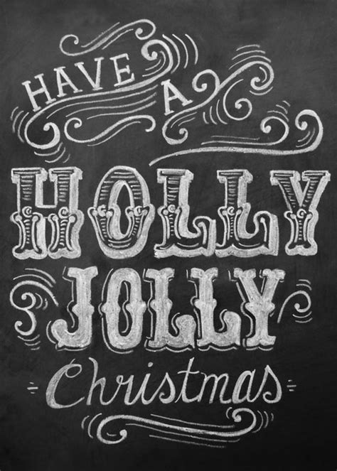 creative christmas typography designs   greeting cards