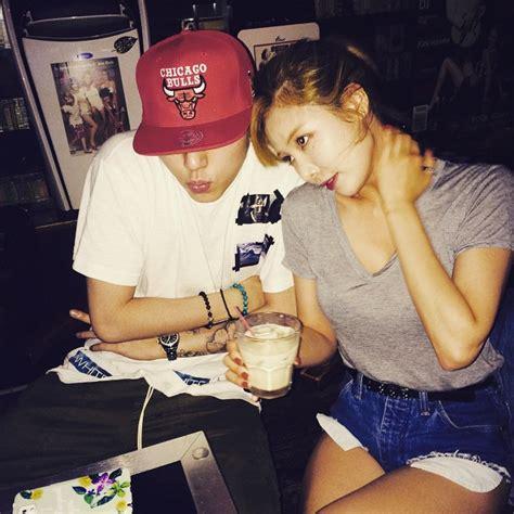 hyuna tattoo 2015 4minute s hyuna and mamamoo s hwasa show off their